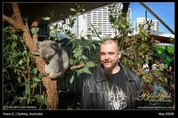 Klaus E. à Sydney, au pays des Koala