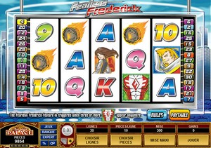 Jeu Casino Microgaming - Fearless Frederick
