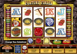 Jeu Casino Microgaming - Fortune Finder