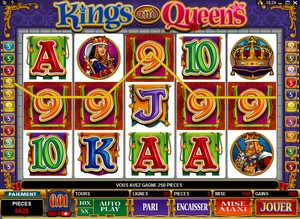 Jeu Casino Microgaming - Kings and Queens