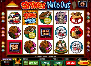 Jeu Casino Microgaming Spike's Nite Out