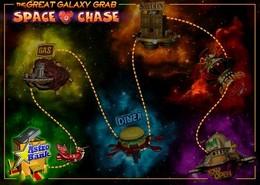 Parcours Spatial du jeu The Great Galaxy Grab