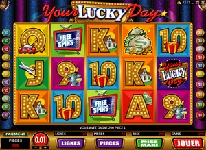 Jeu Casino Microgaming - Your Lucky Day